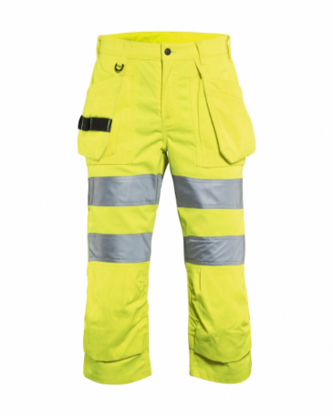 Blaklader 7139 Ladies Pirate Shorts High Vis (Yellow)
